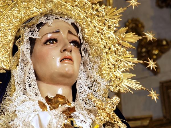SOLEMNES CULTOS EN HONOR A MARÍA SANTÍSIMA DE LA CARIDAD
