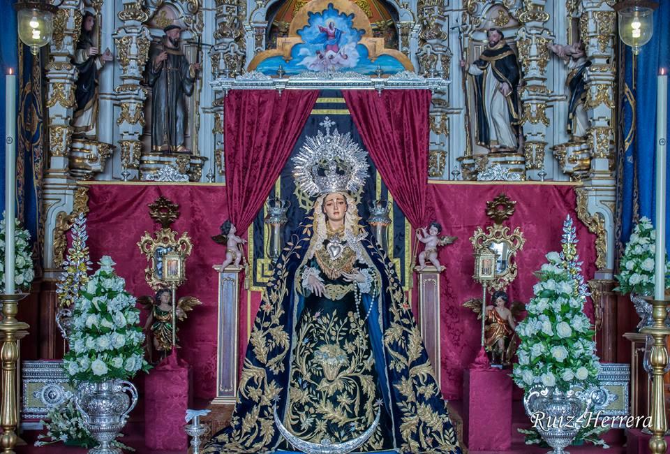 SOLEMNE TRIDUO, ROSARIO DE LA AURORA Y BESAMANOS EN HONOR A MARÍA SANTÍSIMA DE LA CARIDAD