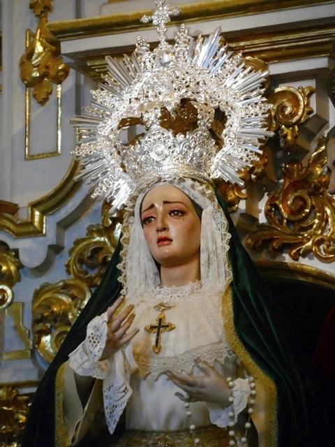 María Santísima de la Caridad vestida para tiempo ordinario