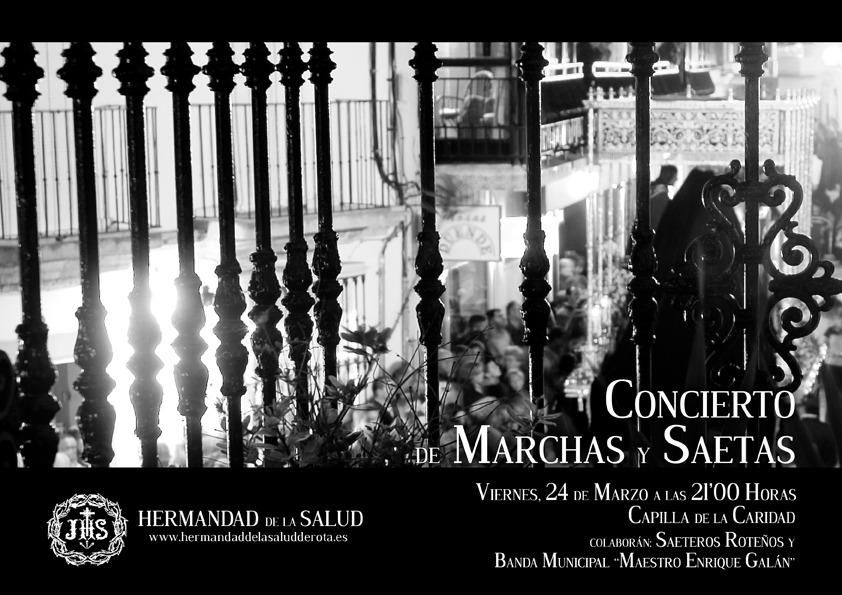 CONCIERTO DE CUARESMA DE MARCHAS Y SAETAS
