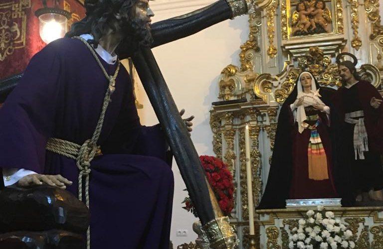 BESAPIES A NUESTRO PADRE JESUS DE LA SALUD EN SUS TRES CAIDAS