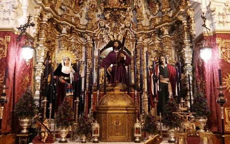 SOLEMNE QUINARIO EN HONOR DE NUESTRO PADRE JESÚS DE LA SALUD EN SUS TRES CAÍDAS